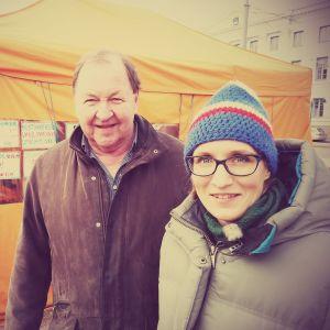 Roy Andersson ja Marjut Tervola