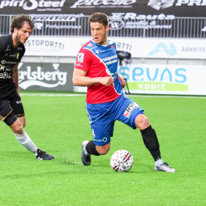 Filip Valencic fick sitt genombrott i PS Kemi.