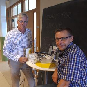 Jarl Sundqvist och Fredrik Sandelin.