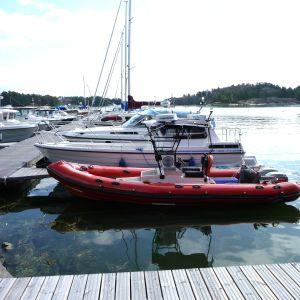Kasnäs frivilliga sjöräddares båt