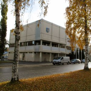 Stadshuset i Nykarleby.