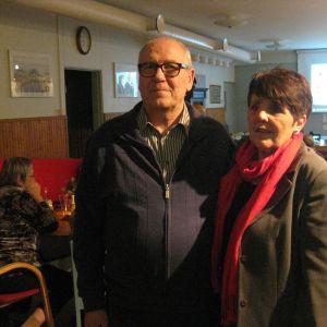 Stig Engman tackar för sig  och ska nu koncentrera sig i huvudsak på annat än politiken. Carita Henriksson blev invald i fullmäktige.