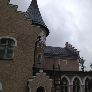 Svidja slott, fasad