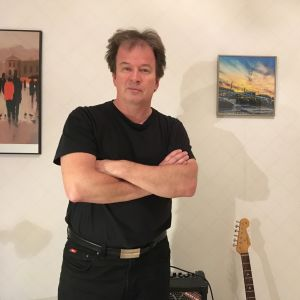 Författaren Kjell Westö i januari 2018.
