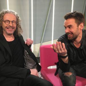 Jukka ja Mikko Leppilampi kohtasivat yllättäen Puoli seitsemän studiossa