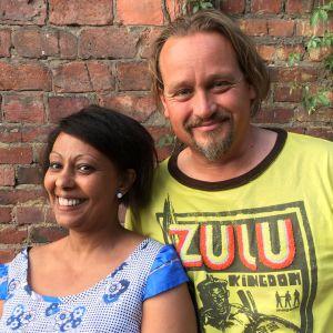 Muluken Cederborg och Fredi Lilius i Efter Nio radio