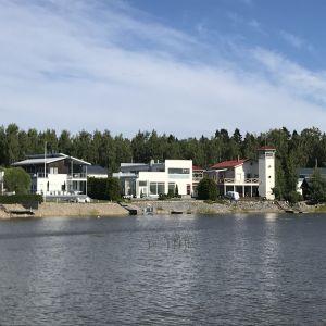 Bostadsmässeområdet i Vasa.