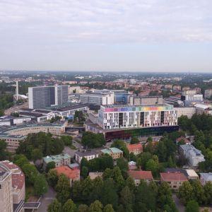 Uusi Lastensairaala ilmakuva, Helsinki