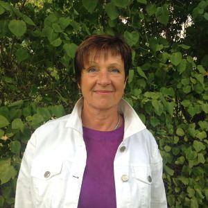 Viveka Eriksson, fullmäktigeordförande i Finström.