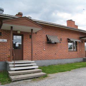 Flyktingförläggningen i Oravais