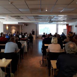 Wärtsiläs informationsmöte för Vasklotborna hölls på Scandic Hotel Waskia