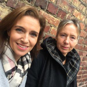 Ira Hammerman och Solveig Backström