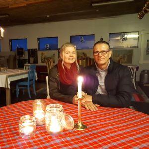 Eva-Lott Björklund och Sture Nyblom.