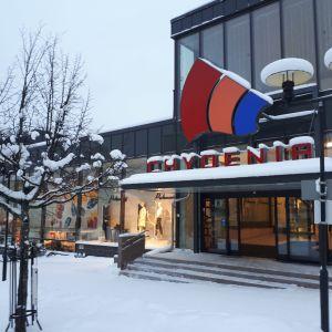 Chydenia köpcenter i Karleby.