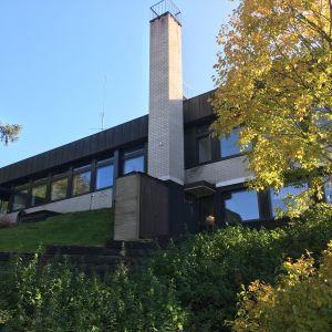 Nälkälinnanmäen entinen kirjasto Savonlinnassa.