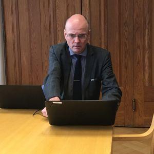 Mikkelin kaupunginjohtaja Timo Halonen