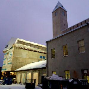 Kuopion museota remontoidaan.