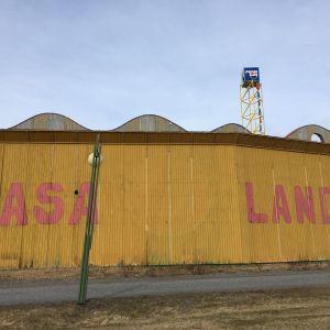 Wasalandian tilat Vaasassa ovat tyhjillään.