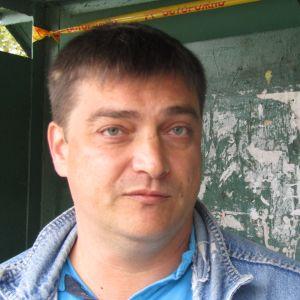 En rysk man.