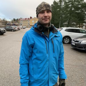 Kymenlaakson pelastuslaitoksen vs. palomestari Saku Tauriainen