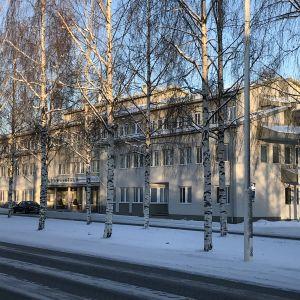 Iisalmen kaupungintalo tammikuussa 2021