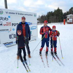 Anders Söderlund och Veronica Holm är båda engagerade i IF Brahes verksamhet.