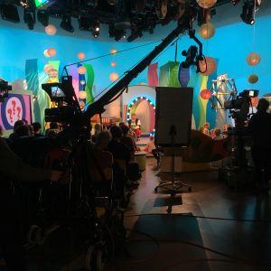 Seikkailukoneen studio vuodelta 2017