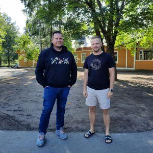 Tomi Kaskinen ja Jesse Särs kertovat lyhennetyn työajan kokeilusta