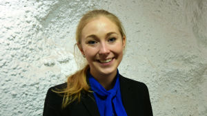 Alexandra Peth jobbar vid Kemiindustrin.