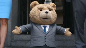 En bild på nallen Ted från filmen Ted 2.