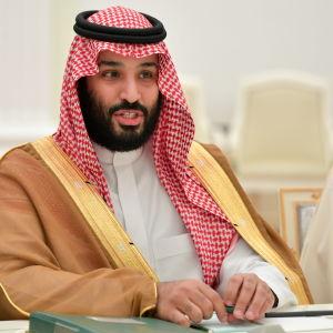 Mohammed bin Salman, Saudiarabiens kronprins, fotograferade i juni 2018.