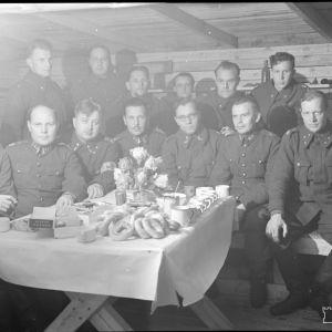 12.1.1940 Pston ups. upeassa korsussaan Kollaanjoen itäpuolella.