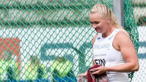 Salla Sipponen, lag-EM 2017.