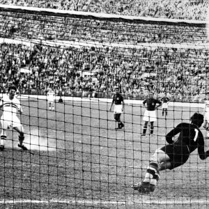 Fotbollsmatch, Ungern-Jugoslavien, OS 1952.