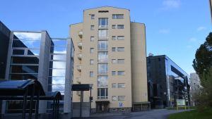 I- byggnaden vid Vasa centralsjukhus.