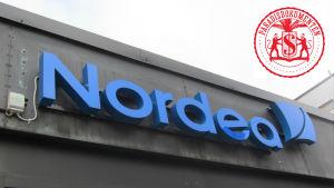 Nordea-skylt.