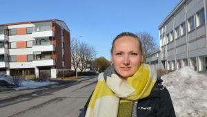 Veterinär Pamela Kvarngård.