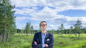 Juhani Sepppänen leder serien Finland är finskt.