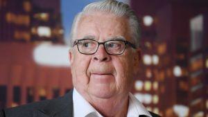 Vice ordförande Kalervo Kummola har stort inflytande i det internationella hockeyförbundet.