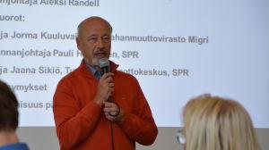 Olli A. Manni, stadsstyrelsens ordförande, hösten 2015