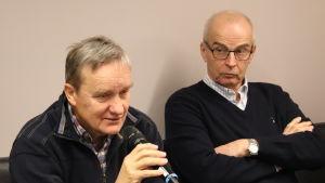 Folke Öhman och Edgar Sjövall.