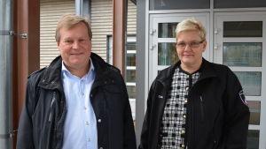 Kjell Heir och Carina Smeds