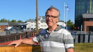 Jouko Högmander från Forststyrelsen i Egentliga Finland.
