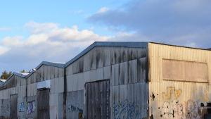 Gamla cementfabriken i Karis.