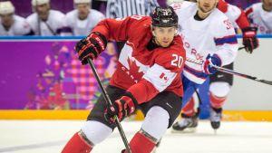 John Tavares spelade OS för Kanada 2014.
