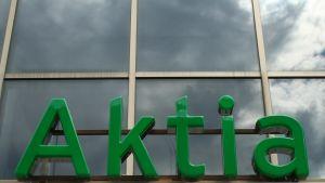 Aktias skylt i Lovisa