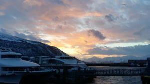 Polarnatten är snart över i Tromsö