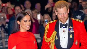 Meghan, hertiginna av Sussex, och prins Harry, hertig av Sussex.