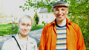 En kvinna som heter Sanna Salán och en man som heter Marko Kokko.