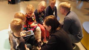 Pikku Kakkosen Game Jam: lapset testaavat